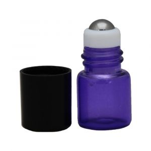 Roll On aus Glas violett - 1ml