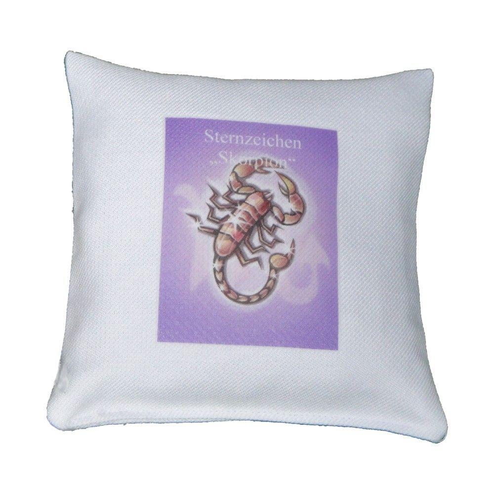 kr uterkissen sternzeichen skorpion natuerlich. Black Bedroom Furniture Sets. Home Design Ideas